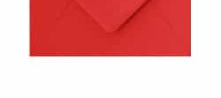 envelope a6 red 10 per pack naomi s paperie